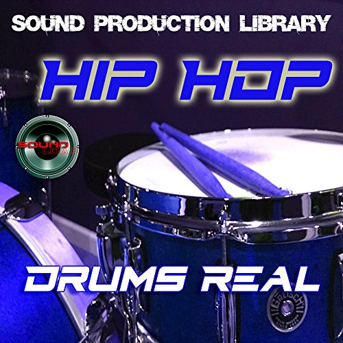 HIP HOP Drums Real – Unique Original 24bit Multi-Layer Samples/Loops Library on DVD or for download