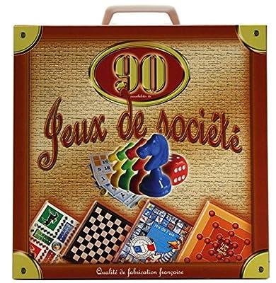 Ferriot Cric SA - Jeu de société - Mallette 90 Jeux