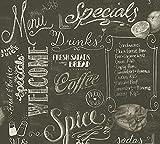 "Carta da parati in tessuto non tessuto ""Livingwalls"", moderna carta da parati in stile Diner Simply Decor"""
