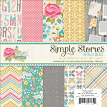 "Vintage Bliss Paper Pad 6""X6"" 24/Sheets-Double-Sided"