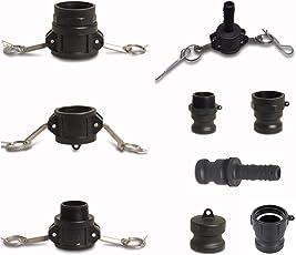 Kamlok Hebelamaturen Schnellkupplung Adapter Kupplung aus PP/Kunststoff