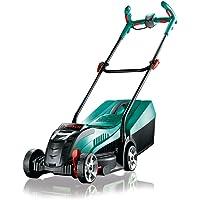 Bosch DIY Akku-Rasenmäher Rotak 32 LI, Akku, Ladegerät, 31 l Grasfangkorb, Sicherheitsschlüssel, Karton (36 V, 2,0 Ah, 32 cm Schnittbreite, 30-60 mm Schnitthöhe)
