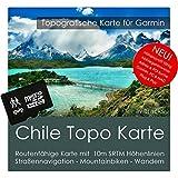 Chili Garmin Carte Topo 8GB MicroSD. Carte Topographique GPS Carte de loisirs pour les randonnées Vélo Randonnée Trekking Geocaching & Outdoor. GPS, PC et Mac...