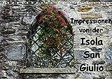 Impressionen von der Isola San Giulio (Tischkalender 2018 DIN A5 quer) Dieser erfolgreiche Kalender wurde dieses Jahr mit gleichen Bildern und ... Isola San Giulio (Monatskalender, 14 Seiten )