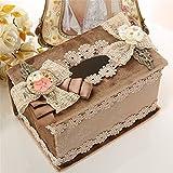 Paño tejido pastoral box set/auto succión,caja de papel cartón ???