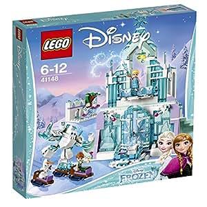 LEGO Disney Princess 41148 - Set Costruzioni Il Magico Castello di Ghiaccio di Elsa
