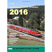 Elektroloks der DB AG im Fahrplanjahr 2016: Der Jahresrückblick (13.12.2015-11.12.2016)