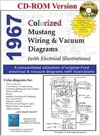 1967 colorized mustang wiring and vacuum diagrams: amazon.de: david e.  leblanc: fremdsprachige bücher  amazon.de