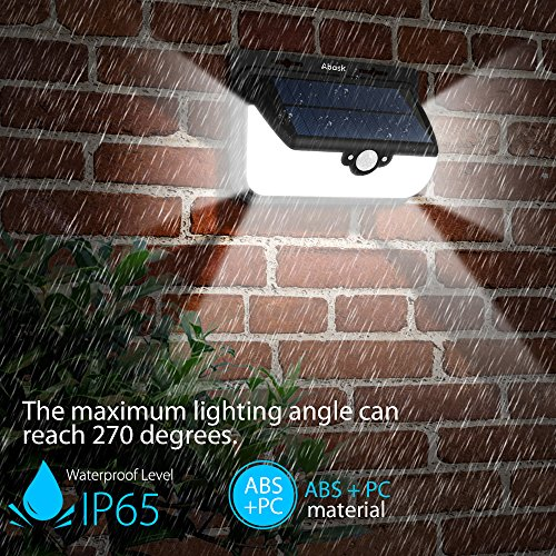 nouvelle version lampe solaire extrieur etanche abask 68 led lumire solaire tlcommandee. Black Bedroom Furniture Sets. Home Design Ideas