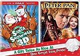 Santa Vs the Snowman & Peter Pan [Import USA Zone 1]