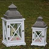 Systafex ml Kit de 1160Lanterne 39cm et 55,5cm jardin lampe lanterne de jardin Bougeoir Bougeoir Photophore Photophore