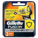 Gillette Fusion ProShield Ricarica di Lame per Rasoio, 3 Testine immagine