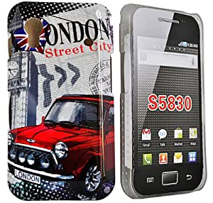 Accessory Master London street Housse pour Samsung galaxy ace S5830 Rouge