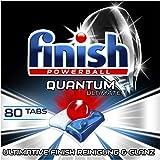 Finish Quantum Ultimate Spülmaschinentabs – Phosphatfreie Geschirrspültabs mit 3-fach Wirkung – Kraftvolle Reinigung…