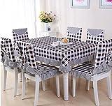 Pastoral Spitze Tischdecken, Tischdecken, Tischdecken, Tischdecken Stuhlkissen, Stuhlabdeckung,150*200CM