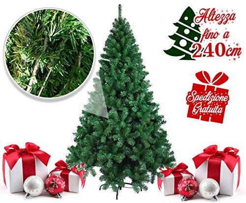 Cervino New Christmas, albero di Natale da 150, 180, 210 o 240 cm