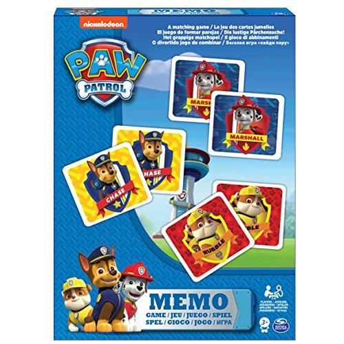 Memoriespiel von Board Games-6033301-Memo Paw Patrol (Französische Version)