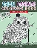 Animal Mandalas Coloring Book | Children Fun Edition 11 (Animal Mandalas and Art Book Series) (English Edition)