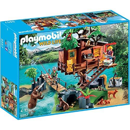 Playmobil Wild Life Adventure Tree House Juego de construcción - Juguetes de construcción (Juego de construcción,, 4 año(s), Niño/niña, 10 año(s), 32 cm)
