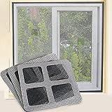 9Pack Insektenschutz Mückenschutz Selbstklebende Mesh Fenster und Tür Bildschirm Reparatur-Set Blatt Tape