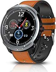 BYTTRON Smart Watch, Bluetooth Smartwatch Fitness Tracker IP68 Activity Tracker Impermeabili Con GPS Sport Record Contapassi