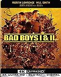 Bad Boys 1 & 2(4K Ultra HD+Blu-ray+Digital,2018)Steelbook-NEW-Free Shipping