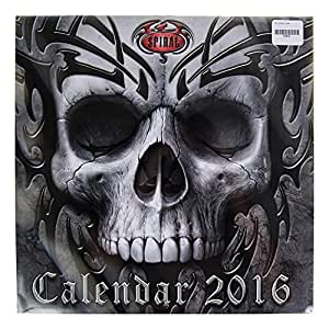 Calendrier 2016 Spiral Gothic calendrier mural 30 x 30 cm