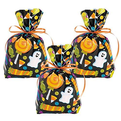 lloween Cellophane Geschenk Zellophan Mitgebsel Naschtüte (Halloween Beutel)