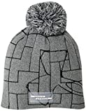Under Armour Damen UA Graphic Pom Beanie Mütze, Steel/Graphite/White (035), OSFA