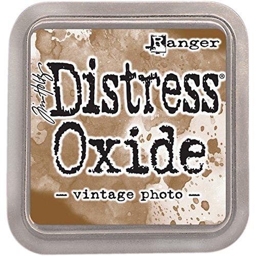 Ranger Tim Holtz Distress Oxides Ink Pad-Vintage Photo (Vintage Photo Distress Ink)
