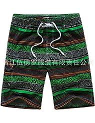 XiaoGao_ les _ hommes beach pantalon taille shorts.