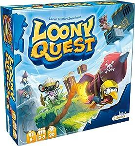 Asmodee-Sociedad Parte-Loony Quest