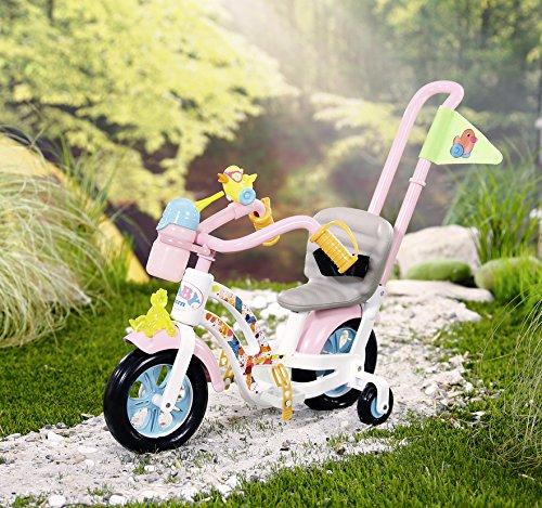 BABY-born-PlayFun-Bike-Juego-de-bicicleta-para-muecas-accesorios-para-muecas-Juego-de-bicicleta-para-muecas-3-aos-Multicolor-1-Asientos-Chica-43-cm