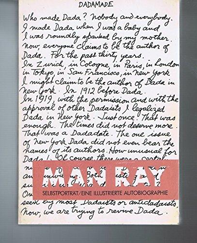 Man Ray, Selbstporträt. Eine illustrierte Autobiographie