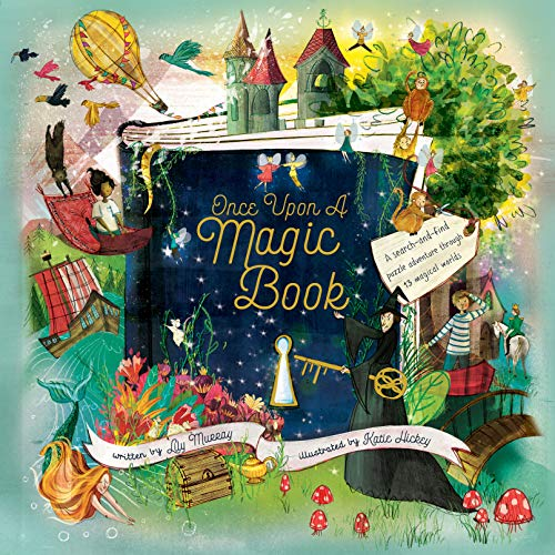 Once Upon a Magic Book - Adventures Puzzle Usborne