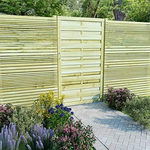 Gartenzaun und Montagematerial