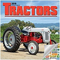 Tractors Calendar 2019 Set - Deluxe 2019 Tractors Wall Calendar with Over 100 Calendar Stickers (Tractors Gifts, Office Supplies)