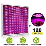 XJLED 120W LED Pflanzenleuchte 1365pcs Rot&Blau SMD LED Pflanzenlampe Pflanzen Wachstumslampe...