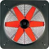 Vortice Wandventilator zur direkten Entlüftung ins Freie, Axial, 1760 m3/h Leistung, 40703 E 354 M, grau lackiert