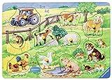 Ravensburger 03673 - Niedliche Bauernhoftiere