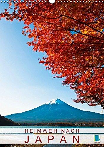 Heimweh nach Japan (Wandkalender 2017 DIN A3 hoch): Schreine, Reis und Metropolen (Monatskalender, 14 Seiten) (CALVENDO Orte)