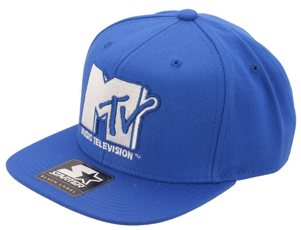 MTV - STARTER snap back - MT001 - ICON LOGO SB - BLUE/WHITE