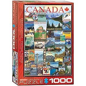 "Eurographics 6000-0778""Travel Canada Vintage Ads - Puzzle (1000 Piezas)"