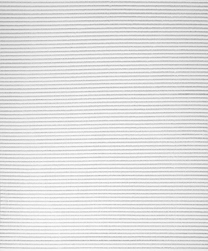 Badvorleger, Aquamat Antirutsch Matte, Bodenbelag, Bad Garten Küche, 100x65 cm, Länge wählbar, Uni Weiß