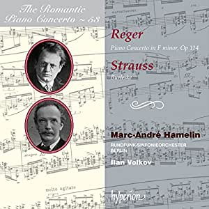 Reger/Strauss,Romantic Piano concertos