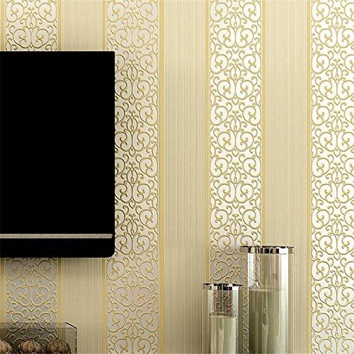 Tappezzeria contemporanea Art Deco 3D semplice moderna carta da parati rivestimenti arte parete tessuto Non tessuto,BOZHI6