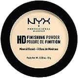 NYX PROFESSIONAL MAKEUP, High Definition Finishing Pulver, Kompakt Puder, hudutjämnande, Matt Finish, Oljeabsorberande, Vegan