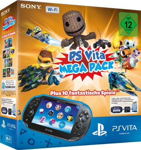 PlayStation Vita Wi-Fi inkl. PS Vita Mega Pack 1 - Vita Pack