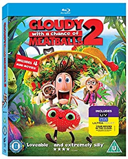 Cloudy with a Chance of Meatballs 2: Revenge of the Leftovers [Blu-ray 3D + Blu-ray] [2013] [Region Free] (B00G7M18WY) | Amazon price tracker / tracking, Amazon price history charts, Amazon price watches, Amazon price drop alerts