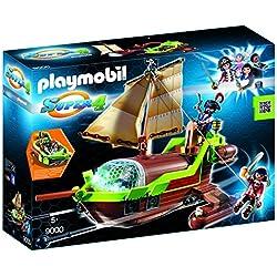 Playmobil Super 4 - Barco pirata de juguete.